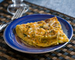 Sweet Potato Cream Cheese Frittata